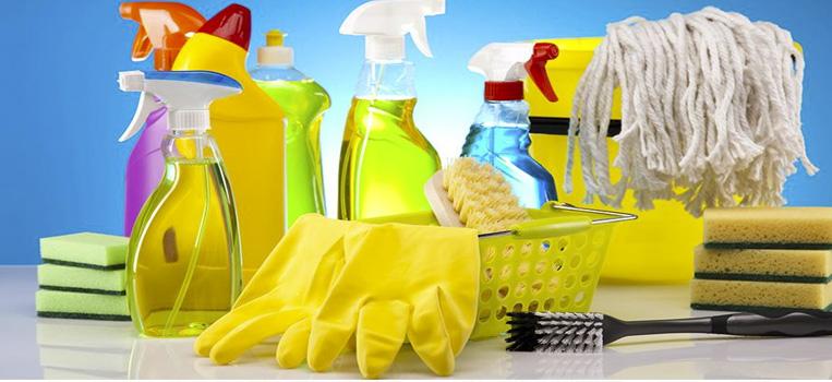 Productos de limpieza para comunidades