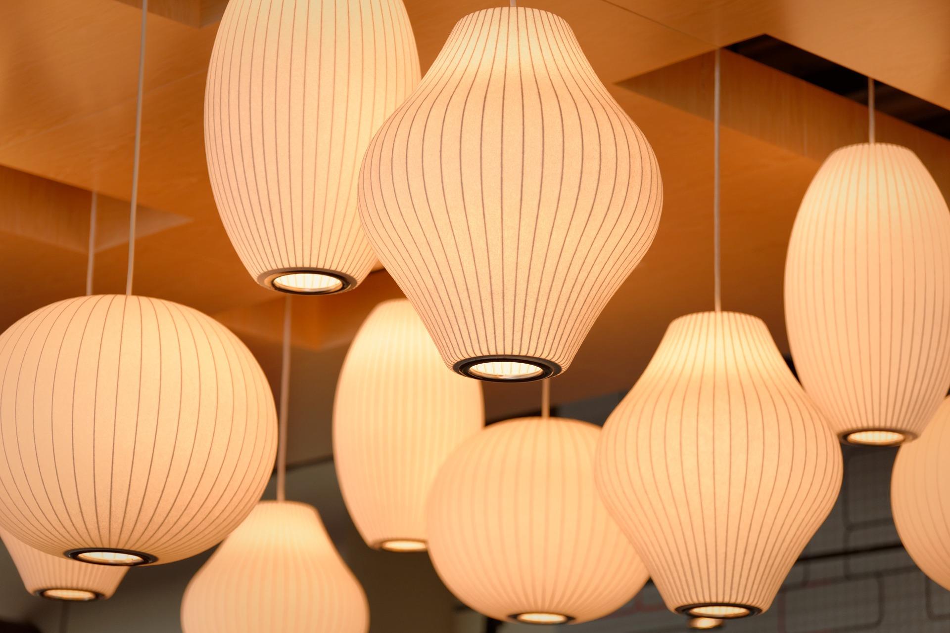 Ideas para limpiar fácilmente las lámparas de casa
