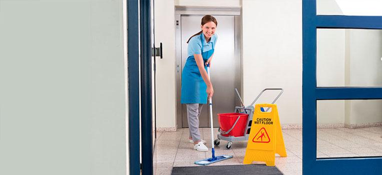 ¿Cómo se limpian los hospitales o clínicas?